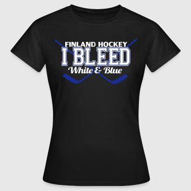 I Bleed Finland - Dame-T-shirt