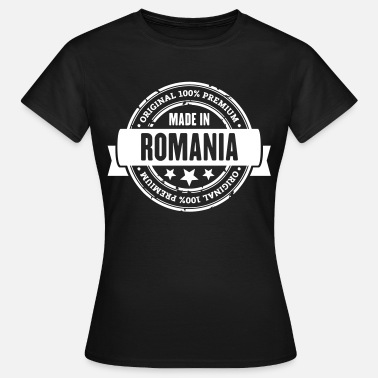 Romania Made in Romania - Frauen T-Shirt