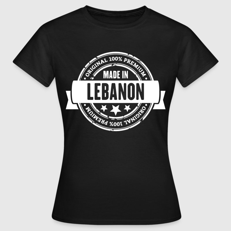 Made in Lebanon - Frauen T-Shirt