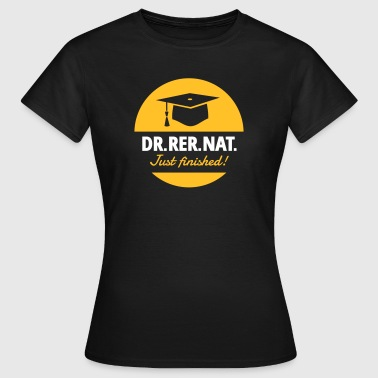Tesis Doctoral Doctor ciencia - Camiseta mujer