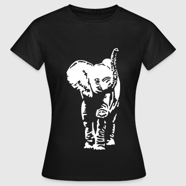 Elephant cub - Women's T-Shirt