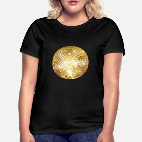 Diskokugel Spiegelkugel Disco Ball Png Frauen T Shirt