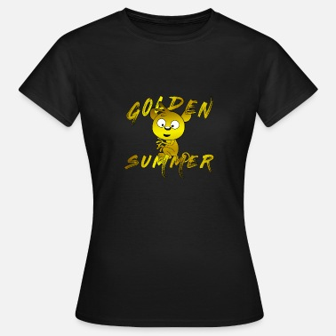 Summer Vacation Summer Summer Golden Summer Vacation Vacation Vacation - Women's T-Shirt