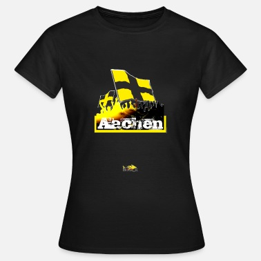 Alemannia aachen all4one - Frauen T-Shirt