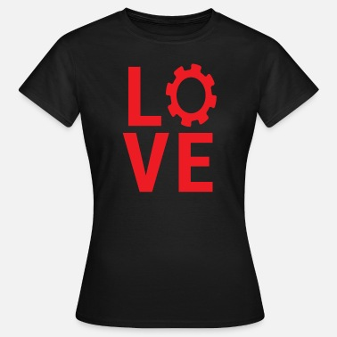 Cogwheel Mechanical Engineering Love Mechanical Engineer Gear Engineering T-shirt - Women's T-Shirt