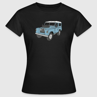 Landy Land Rover Series2a 4x4 Off-Road - Camiseta mujer