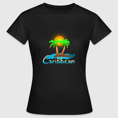 caribbean - Women's T-Shirt