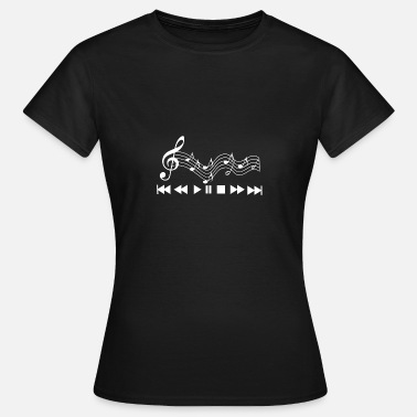 Music Manager Music Music Player Music Key Gift - Women's T-Shirt