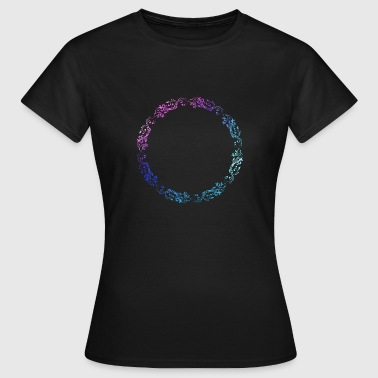 Flower Twine Flower wreath flowers flowers - Women's T-Shirt