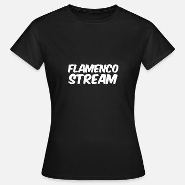 Streamer Flamenco Stream - T-skjorte for kvinner