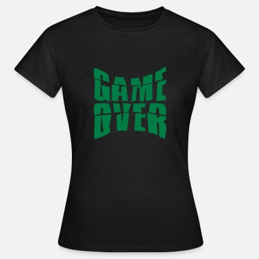 Nausea text game over puking vomit nausea - Women's T-Shirt