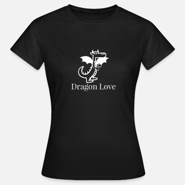 Dragone Dragon Love Dragon Love Dragon - Maglietta da donna