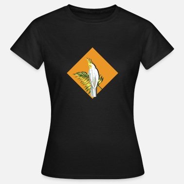 Exotic exotic papagai orange gift - Women's T-Shirt