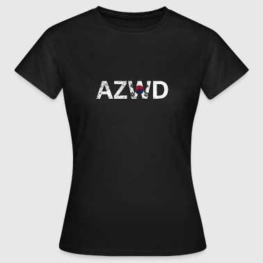 AZWD South Korea - T-shirt Femme