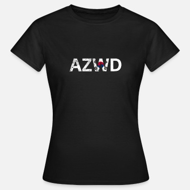 Topias AZWD South Korea - T-shirt Femme