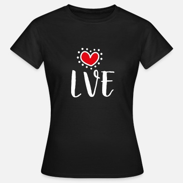Nice Love Shirt - Love gift with heart - Maglietta da donna