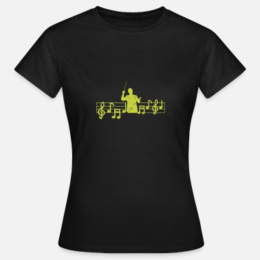 Music Heart Rate Heartbeat Music Maestro Heart Rate - Women's T-Shirt
