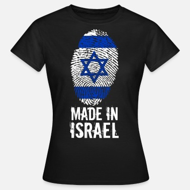 Israel Made in Israel / Made in Israel מדינת ישראל - Vrouwen T-shirt