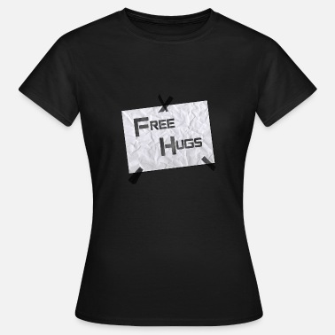Japan Expo FreeHugs.png - T-shirt Femme