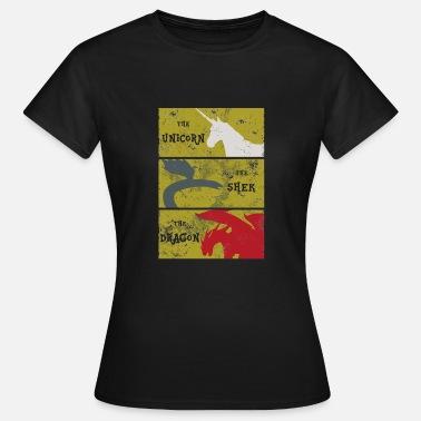 Premium De Mujer Larga Negro Manga Memorias Camiseta Idhun 0nvmwON8