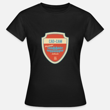Cad cad cam specialist 2001 teeth dentistry - Women's T-Shirt
