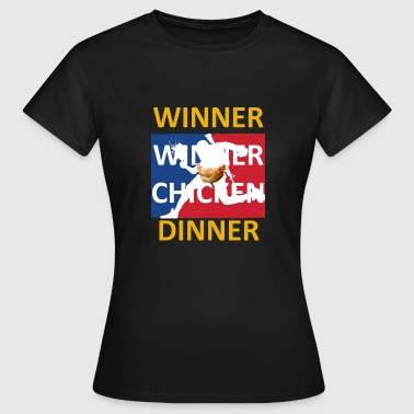 Dinner Winner Winner Chicken Dinner - Camiseta mujer
