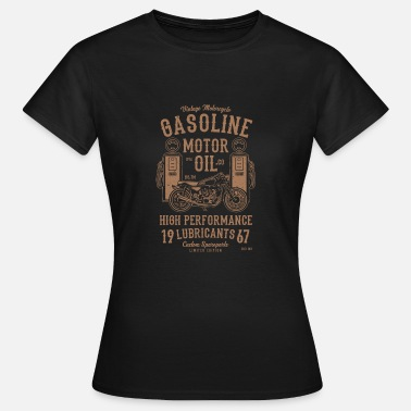 Gas Engineer Gasoline Engine Oil High Performance - Women's T-Shirt