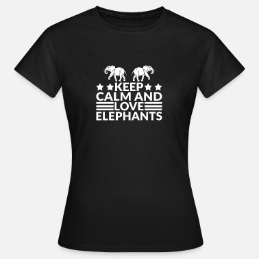 Elefanten Love Elefant - Frauen T-Shirt