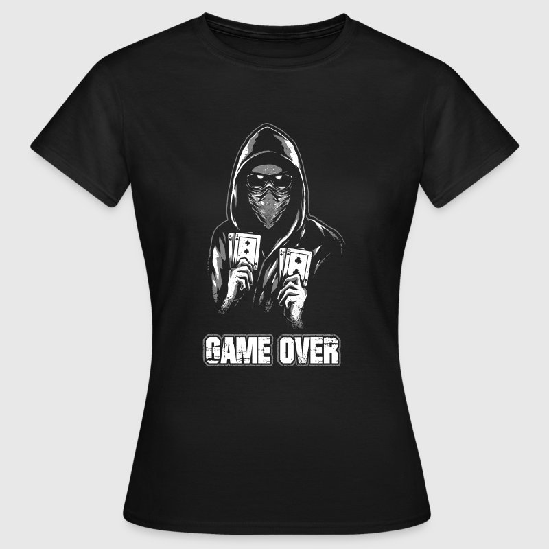 ACAB - GAME OVER - T-shirt Femme