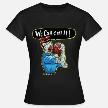 Psychobilly we can eat it - Frauen T-Shirt