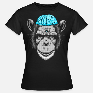 Weird Trippy Brain Freeze - Women's T-Shirt