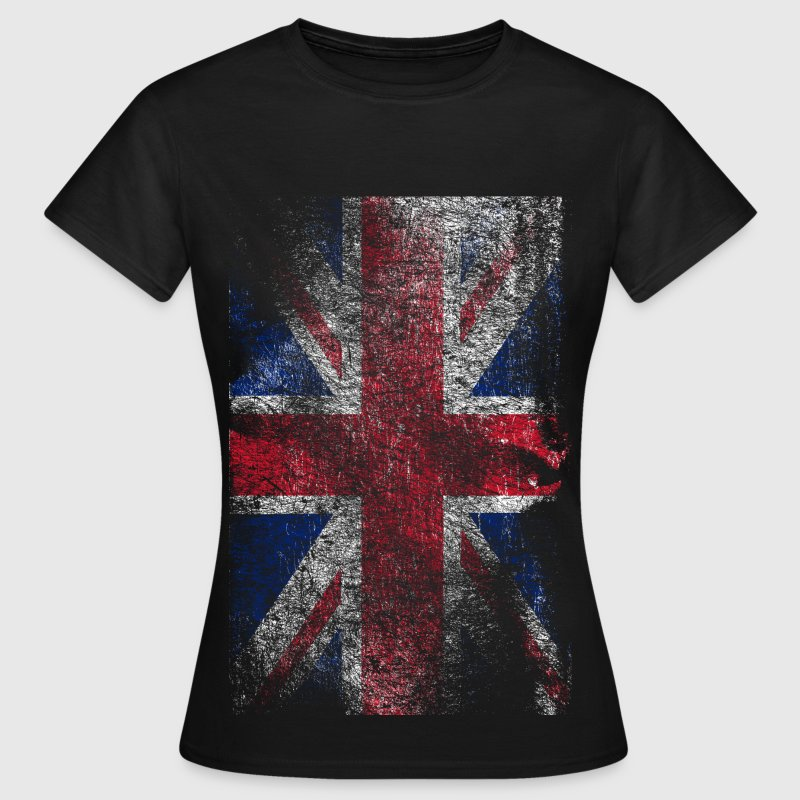 union jack - used look - Vrouwen T-shirt