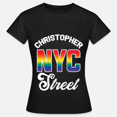 Christopher Street Day Christopher Street NYC - Women's T-Shirt