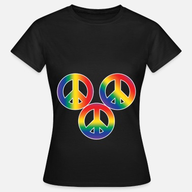 Christopher Street Day Christopher Street Day Peace and Tolerance - Women's T-Shirt
