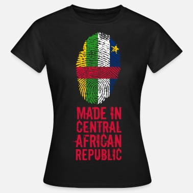 Central African Republic Made In Central African Republic - Women's T-Shirt