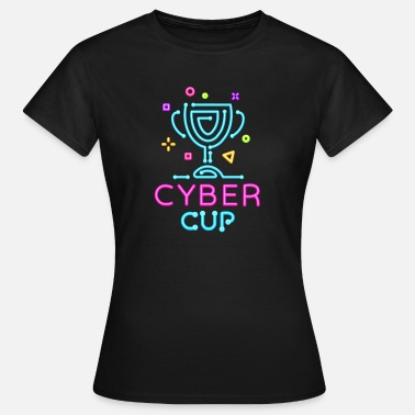 Cyber Cyber Cup - Dame-T-shirt