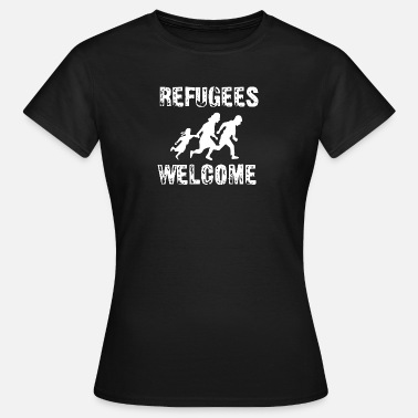 Proasyl Refugees Welcome - Frauen T-Shirt
