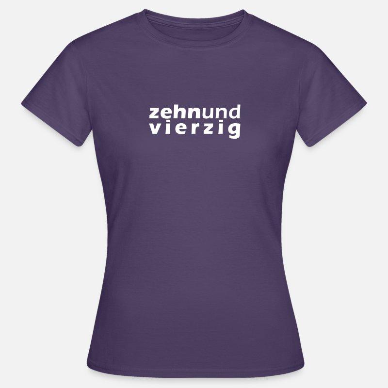 50er Geburtstag Shirt Women S T Shirt Spreadshirt