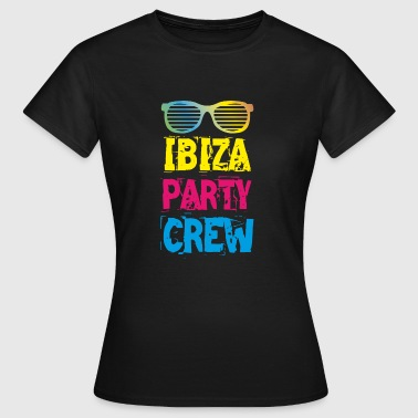 IBIZA Party Crew Club Holiday Fun 2018 T-paita - Naisten t-paita