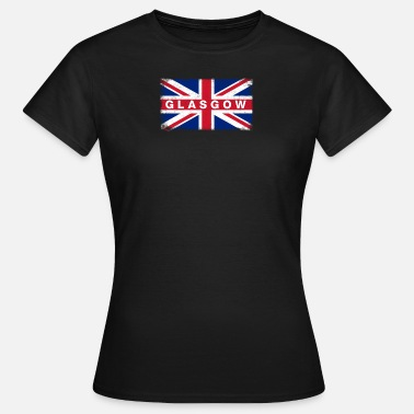 Glasgow Flag Glasgow Shirt Vintage United Kingdom Flag T-Shirt - Women's T-Shirt