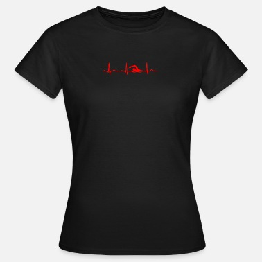Pulse ECG HEATING SWIMMER Red - Women's T-Shirt