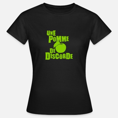 Discord pomme discorde expression - T-shirt Femme