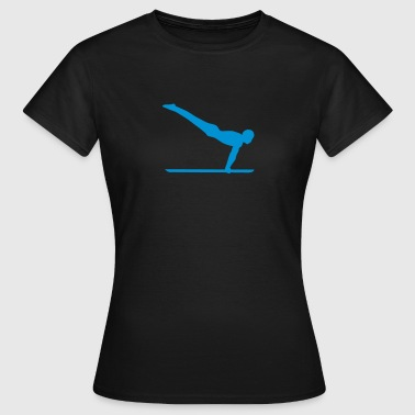 Sportlogo parallel bar gymnastik sportlogo 4 - Frauen T-Shirt
