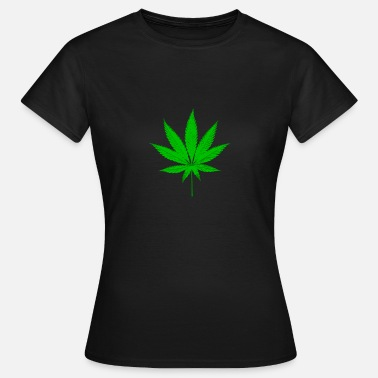 Hemp Leaf Sativa leaf hemp hemp leaf cannabis rasta - Women's T-Shirt