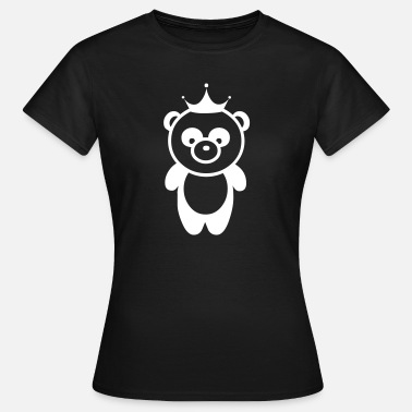 Panda Bear Panda bear panda bear crown - Women's T-Shirt