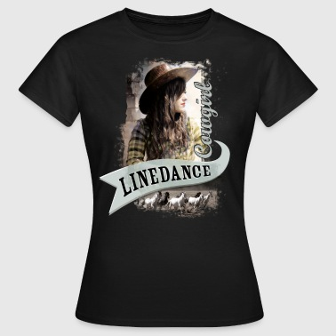 kl_linedance56a - Frauen T-Shirt
