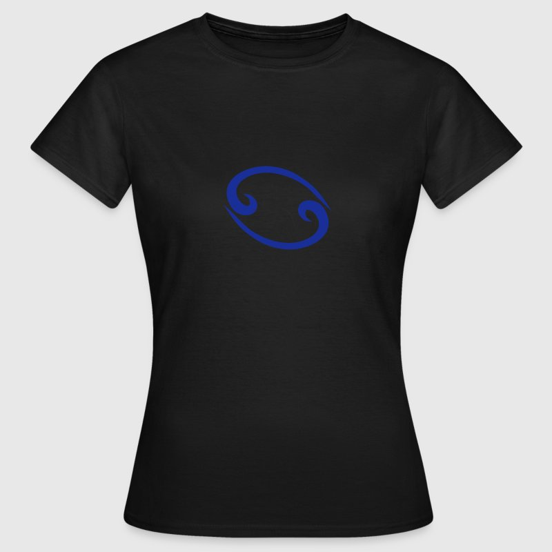 Cancer 2 glyph Signs of the Zodiac symbol - Camiseta mujer