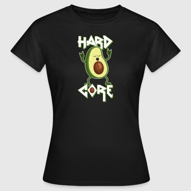Avocado - Hard Core - Metal - Rock - Lustig -Humor - T-shirt dam