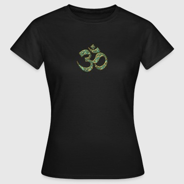 OM (AUM - I AM) - Sacred Symbol, turquoise, manifestation of spiritual strength, The energy symbol gives balance, peace and bliss - Women's T-Shirt