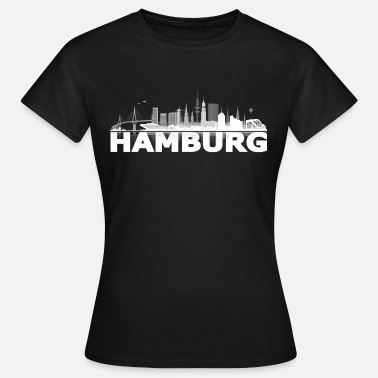 Hamburg waterkant05_02hell - Frauen T-Shirt